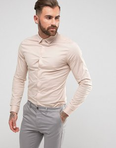 Read more about Asos skinny shirt in pink - pink