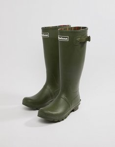 Read more about Barbour tall wellington boots in green - olive