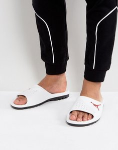Read more about Nike jordan super fly team sliders in white 716985-102 - white
