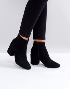 Read more about Raid kola block heeled ankle boots - black