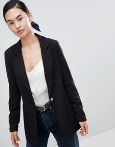 Read more about Only marlena tailored blazer - black