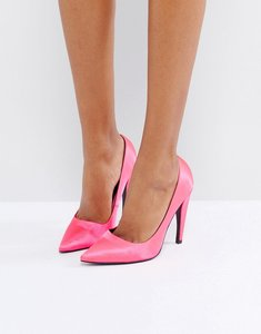 Read more about Asos prosecco pointed high heels - bright pink