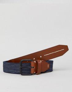 Read more about Jack jones navy woven belt - navy blazer