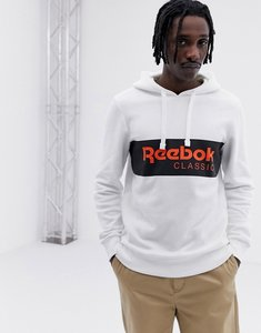 Read more about Reebok classics pullover hoodie in white dx0149