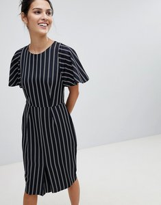 Read more about Closet striped pencil dress - navy