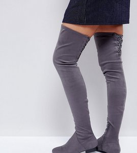 Read more about Asos kasba flat over the knee boots