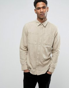 Read more about Jack jones vintage shirt in slim fit with military pockets - antique bronze