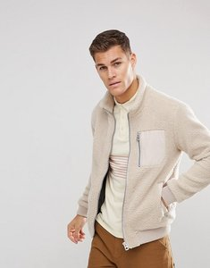 Read more about Esprit teddy fleece jacket - beige 295