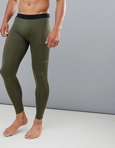 huge selection of 1b139 1393f Read more about Asos 4505 running tights in khaki with quick dry - khaki