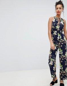 Read more about Uttam boutique floral halter neck jumpsuit - multi