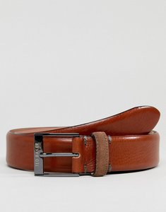 Read more about Ted baker pests belt in leather - tan