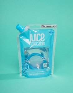 Read more about Juice lightning 1m cable in blue - multi