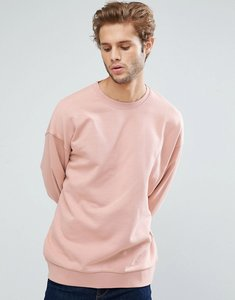 Read more about Asos oversized sweatshirt in pink - fairy