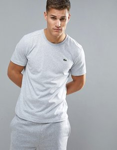 Read more about Lacoste sport logo tech t-shirt in grey - grey