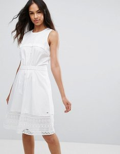 Read more about Tommy hilfiger aspen a line dress - classic white