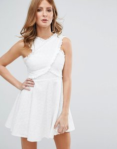 Read more about Millie mackintosh white broderie anglasie dress - white