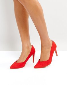Read more about Stradivarius classic court shoe - red