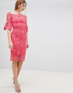 Read more about Paper dolls crochet dress - pink
