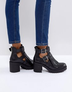 Read more about Steve madden tulia ankle boots - black