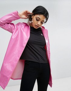 Read more about Daisy street rain mac in vinyl - bright pink