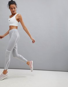 Read more about Nike running power epic luxe leggings in grey - atmosphere grey vast