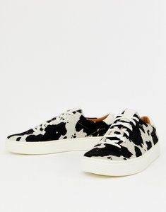 Read more about Polo ralph lauren lace up sneaker in animal print