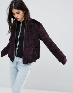 Read more about Missguided wool mix jacket - purple