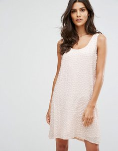 Read more about French connection dorothy drape dress - capri blush