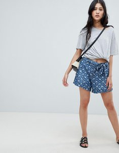 Read more about Deby debo fresh print denim shorts - blue