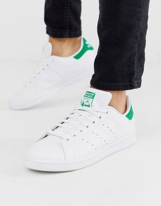 Read more about Adidas originals stan smith leather trainers in white