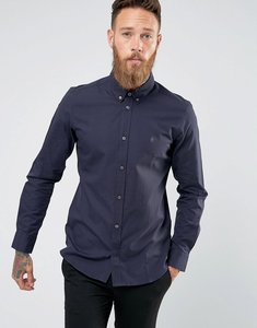 Read more about French connection slim fit shirt - navy
