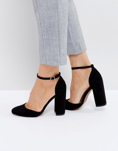 Read more about Asos priya heels - black