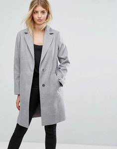 Read more about New look tailored coat - light grey