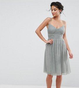 Asos Petite Prom Dress With Necklace Detail Shop Asos Petite Prom