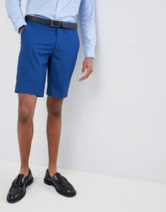 Read more about Farah skinny wedding suit shorts in blue - regatta blue