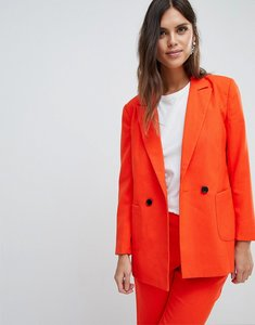 Read more about Y a s coloured tailored blazer co-ord - orange