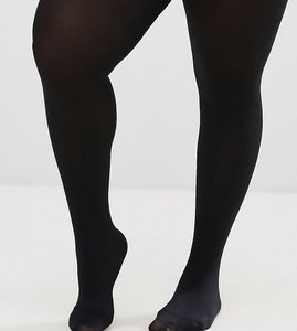 Read more about Asos curve super stretch new improved fit 90 denier tights - black