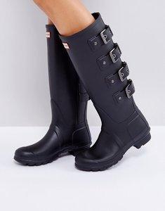 Read more about Hunter original tall black mercury boot - black