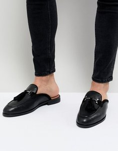 Read more about House of hounds bardin slip on tassel loafers in black - black