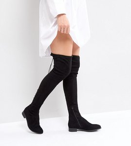 a75b421e425 asos keeper flat over the knee boots - Shop asos keeper flat over ...