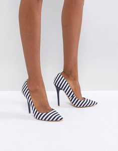 Read more about Office on tops striped court shoes - stripe