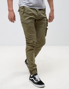 Read more about Replay slim fit cargo pant - green