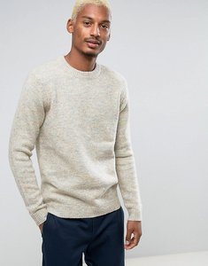 Read more about Asos crew neck jumper in multi coloured yarn - multi