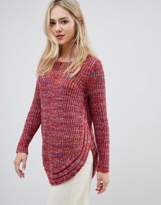 Read more about Stella morgan jumper with rounded hem - burgundy