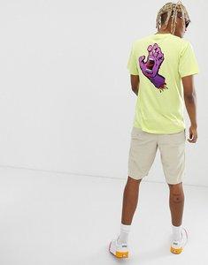 Read more about Santa cruz fade hand t-shirt in green