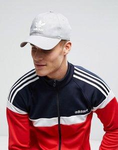 Read more about Adidas originals trefoil cap in grey bk7282 - grey