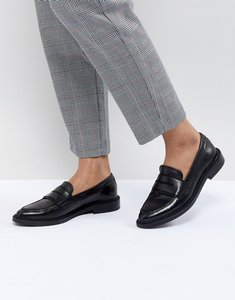 Read more about Selected femme leather loafer - black