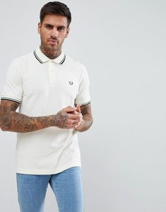 Read more about Fred perry twin tipped polo shirt in off white - f79