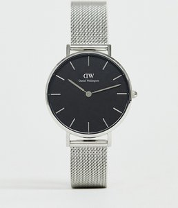 Read more about Daniel wellington dw00100162 mesh watch in silver - silver