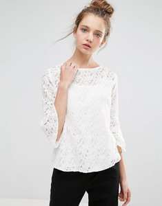 Read more about B young lace blouse - off white